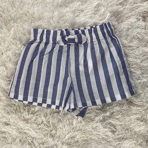 Crazy 8 Baby Girls Stripe Shorts 18-24 months